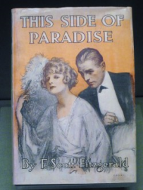 """A first edition of F. Scott Fitzgerald's """"This Side of Paradise"""""""